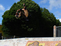 Sweet Rodeo 540 at the Flipside Streetboard School Jam in Bournemouth